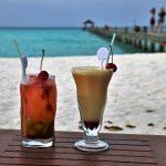 cocktails op strand