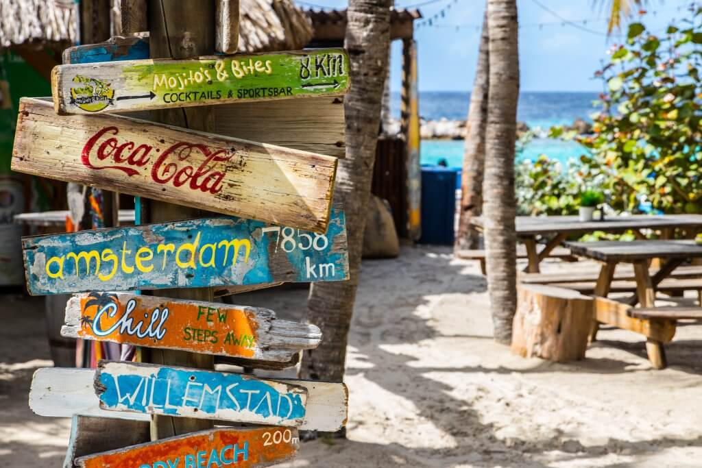 Bordjes Curaçao
